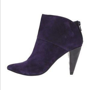 Purple Suede Dolce Vita Booties NEVER WORN size 9